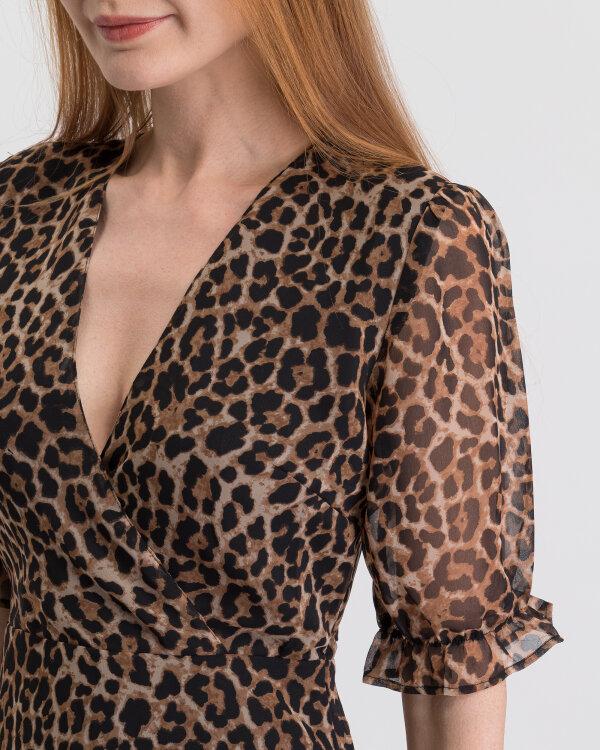 Sukienka Na-Kd 1017-000262_LEOPRINT brązowy