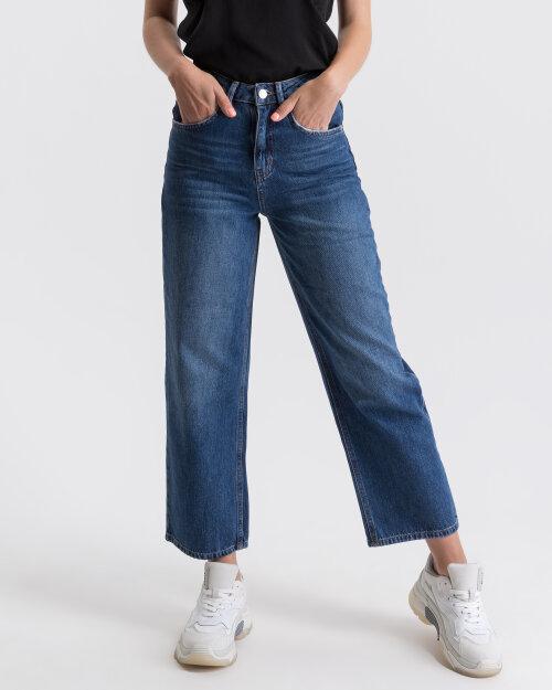 Spodnie Na-Kd 1018-001984_DARK BLUE niebieski