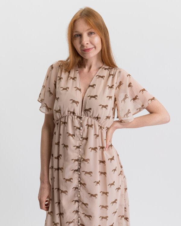 Sukienka Na-Kd 1018-002022_BROWN beżowy