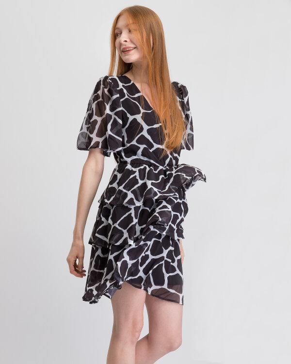 Sukienka Na-Kd 1018-002403_BLACK/WHITE biały