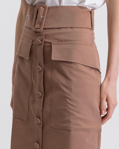 Spódnica Na-Kd 1018-002789_BROWN brązowy