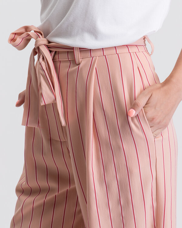 Spodnie Na-Kd 1100-000833_PINK STRIPE różowy