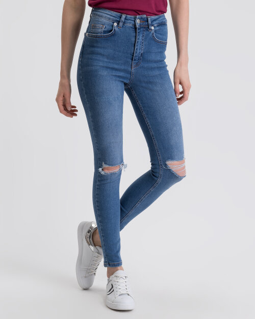 Spodnie Na-Kd 1100-001676_MID BLUE niebieski