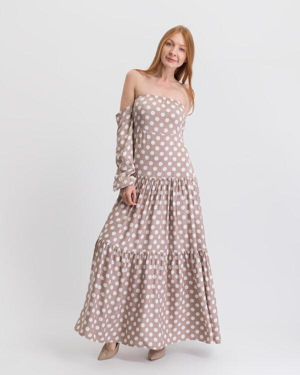 Sukienka Na-Kd 1615-000014_BEIGE/WHITE beżowy