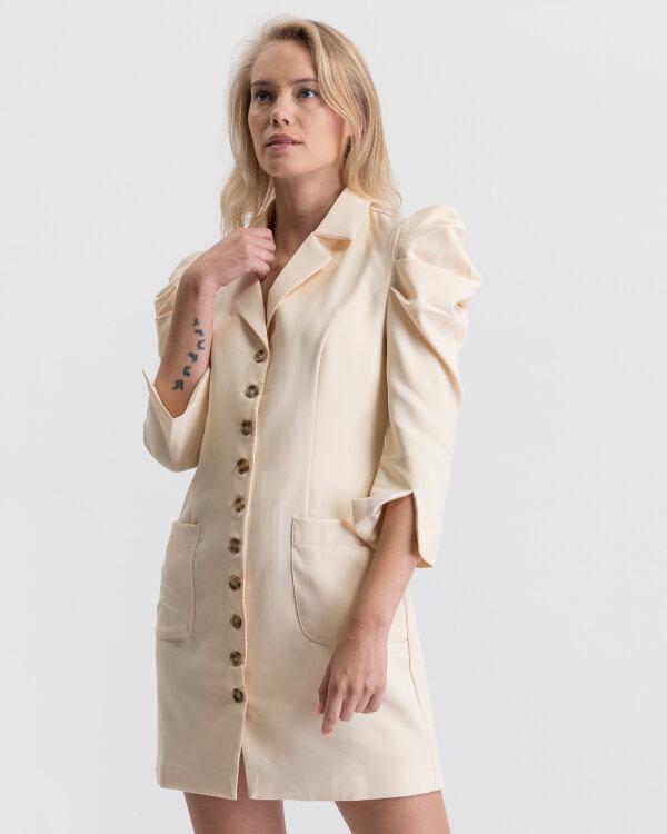 Sukienka Na-Kd 1617-000009_OFF WHITE kremowy