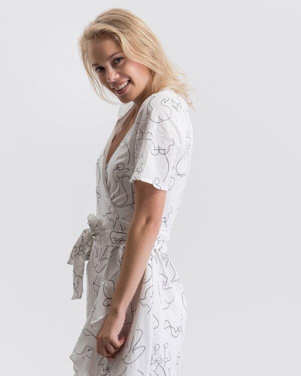 Sukienka Na-Kd 1630-000005_OFF WHITE biały