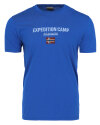 T-Shirt Napapijri NOYIIX_BC5 niebieski