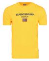 T-Shirt Napapijri NOYIIX_YA7 żółty