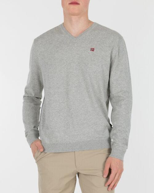 Sweter Napapijri NOYIO4_160 szary