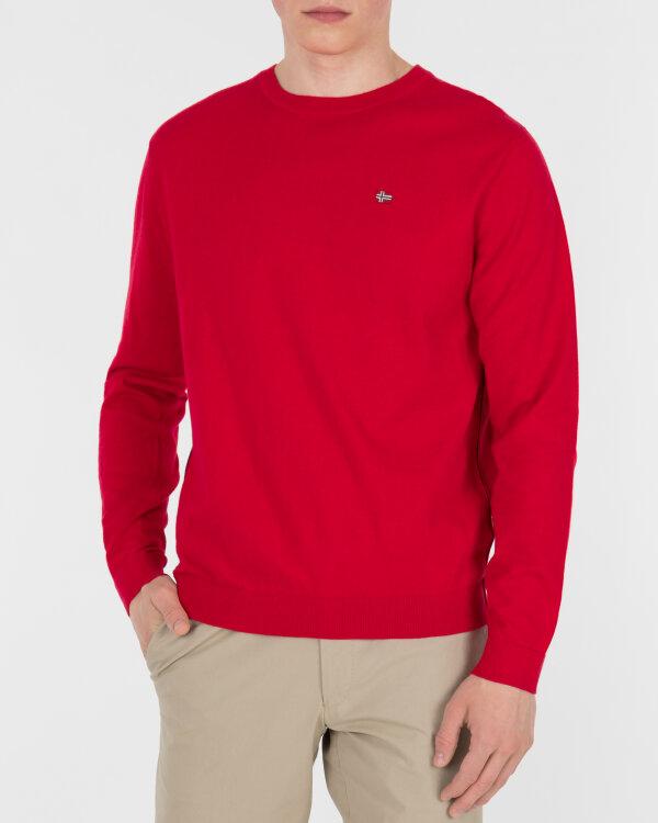 Sweter Napapijri N0YHE6_R70 czerwony