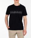 T-Shirt Napapijri N0YIJ9_41 czarny