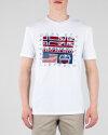 T-Shirt Napapijri N0Yijd_2 Bialy Napapijri N0YIJD_2 biały