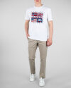 T-Shirt Napapijri N0YIJD_2 biały
