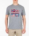 T-Shirt Napapijri N0Yijd_160 Szary Napapijri N0YIJD_160 szary