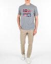T-Shirt Napapijri N0YIJD_160 szary