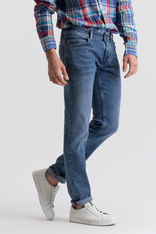 Spodnie Napapijri N0YIO9_D08 niebieski