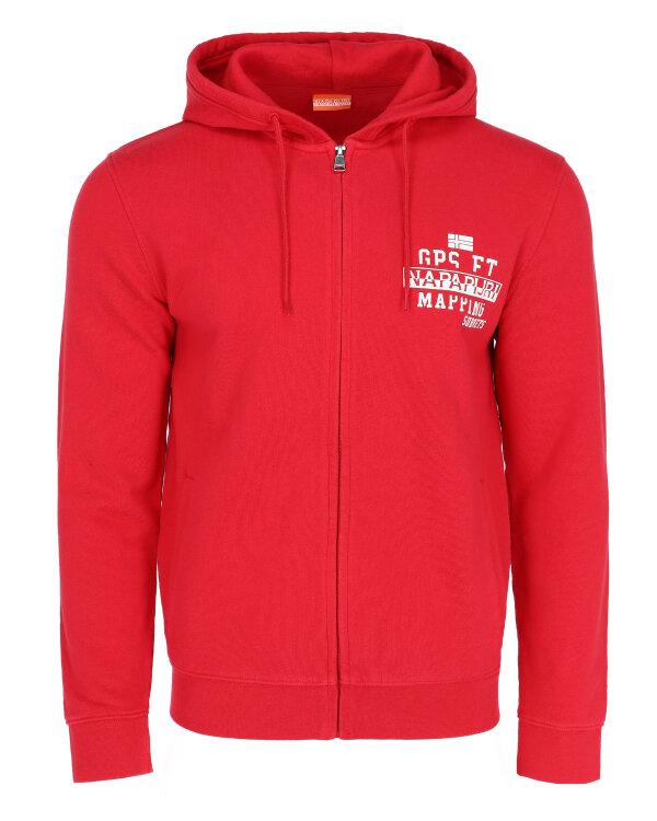 Sweter Napapijri NOYIH2_R70 czerwony