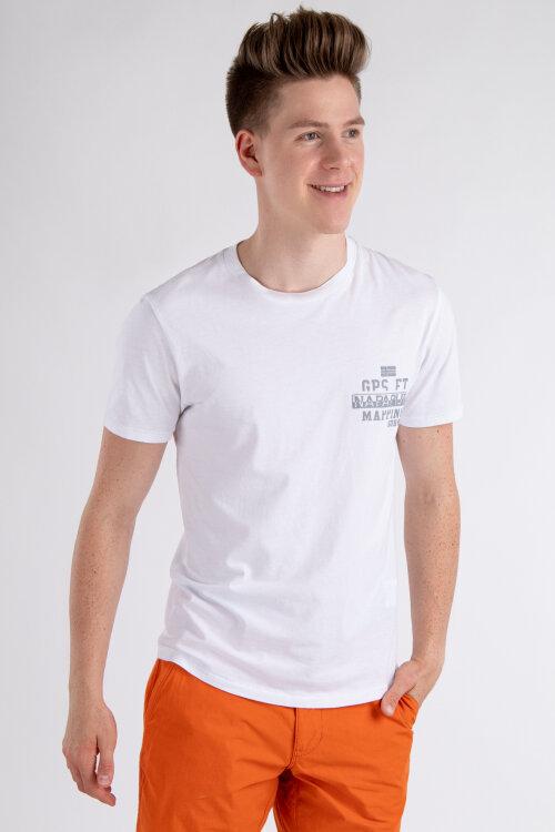 T-Shirt Napapijri NOYIHA_2 biały
