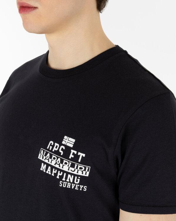 T-Shirt Napapijri NOYIHA_41 czarny