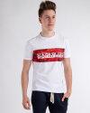 T-Shirt Napapijri NOYIHB_2 biały
