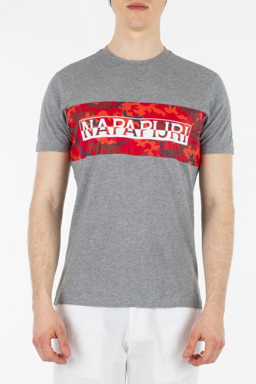 T-Shirt Napapijri NOYIHB_160 szary