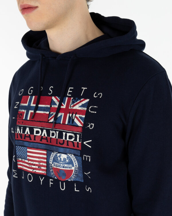 Sweter Napapijri N0YINY_176 granatowy