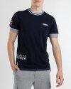 T-Shirt Napapijri N0YIFH_176 granatowy