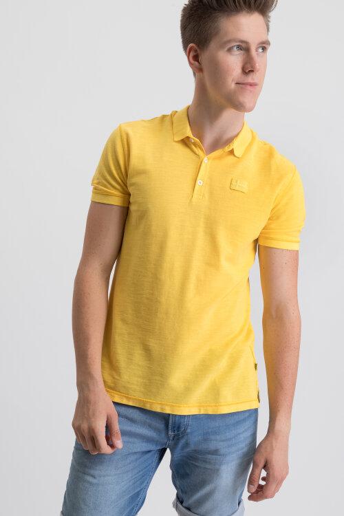 Polo Napapijri N0YINZ_YA7 żółty