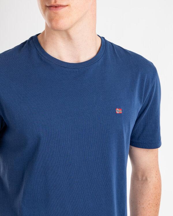 T-Shirt Napapijri N0YJAY_BD1 granatowy