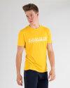 T-Shirt Napapijri N0YIJ9_YA7 żółty