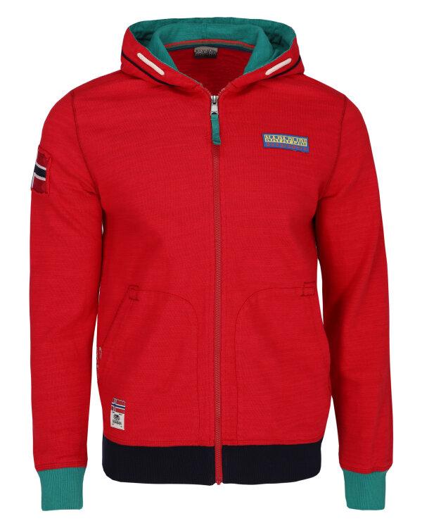Bluza Napapijri N0YIHF9_R70 czerwony