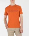 T-Shirt Napapijri N0YIJ9_A44 pomarańczowy