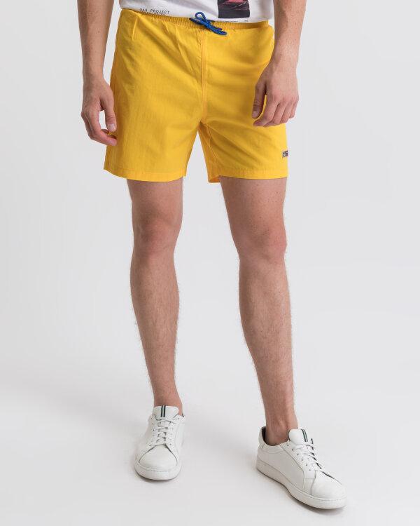 Szorty Napapijri N0Yikg_Ya7 Żółty Napapijri N0YIKG_YA7 żółty