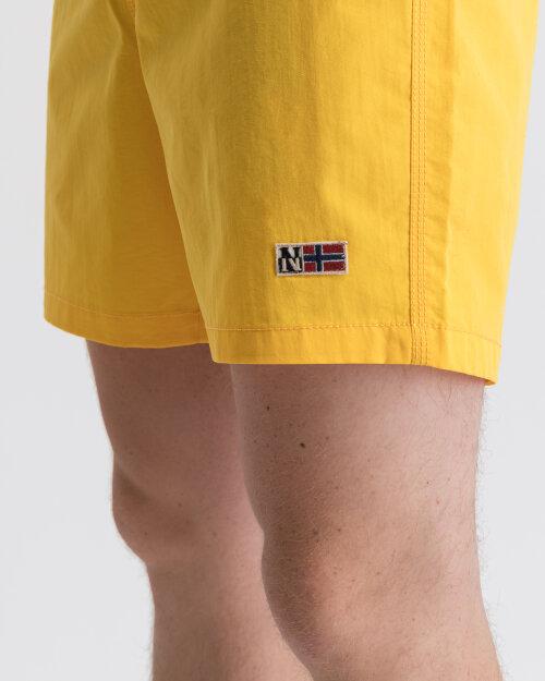 Szorty Napapijri N0YIKG_YA7 żółty