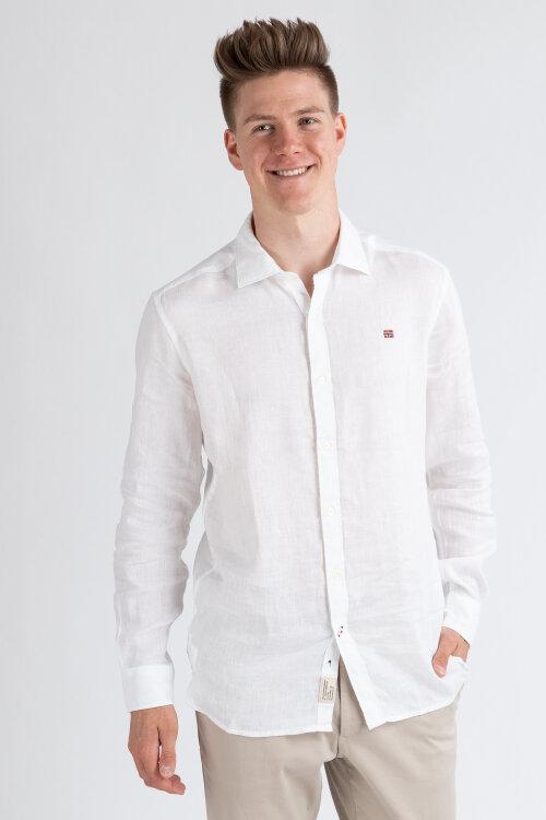 Koszula Napapijri N0YIL7_2 biały