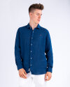 Koszula Napapijri N0YIL7_BD1 niebieski