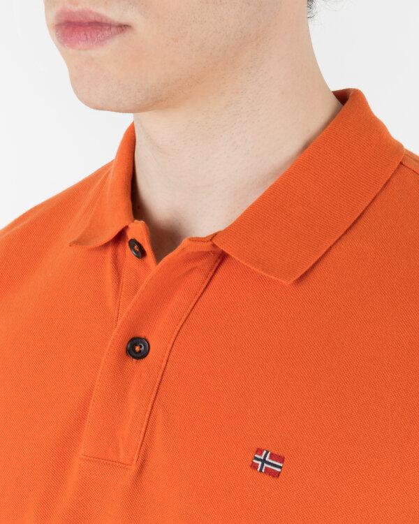 Polo Napapijri N0YINZ_A44 pomarańczowy