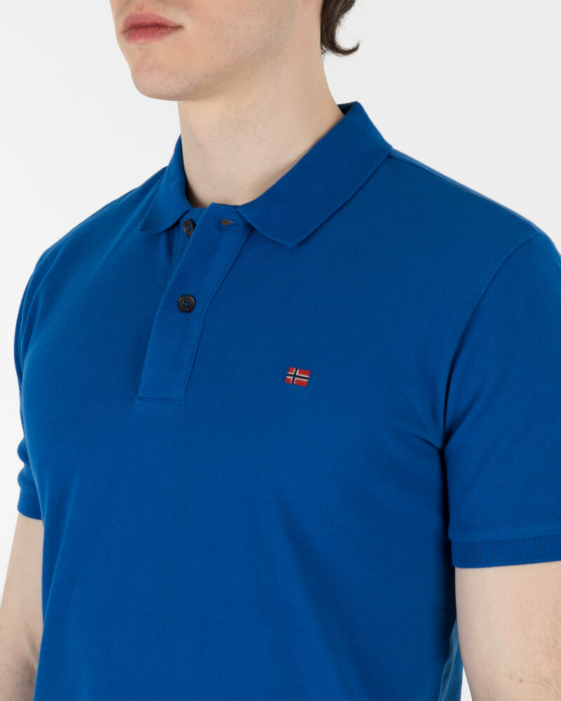 Polo Napapijri N0Yinz_Bc5 Niebieski Napapijri N0YINZ_BC5 niebieski - fot:4