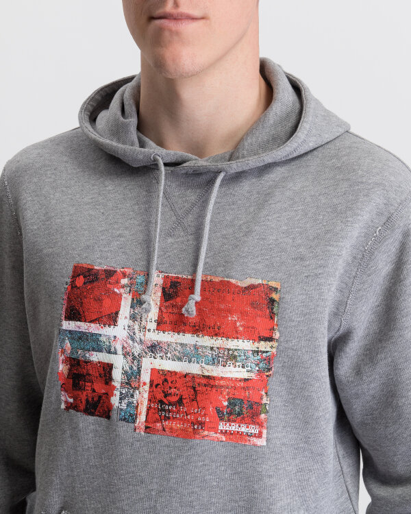 Sweter Napapijri N0YIJ1_160 szary