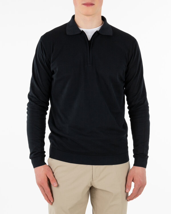 Sweter Oscar Jacobson OLLE POLO 6841_3918_310 granatowy
