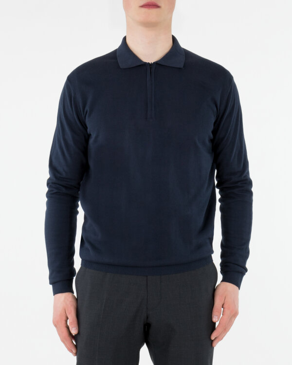 Sweter Oscar Jacobson OLLE POLO 6841_3918_211 granatowy