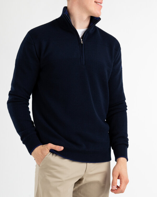 Sweter Oscar Jacobson ANDERS 6090_8811_210 granatowy