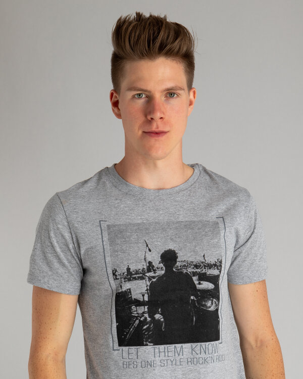 T-Shirt Perso TCE 910000H_SZARY szary