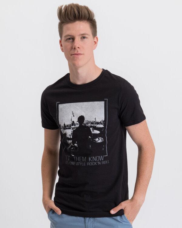 T-Shirt Perso TCE 910000H_CZARNY czarny