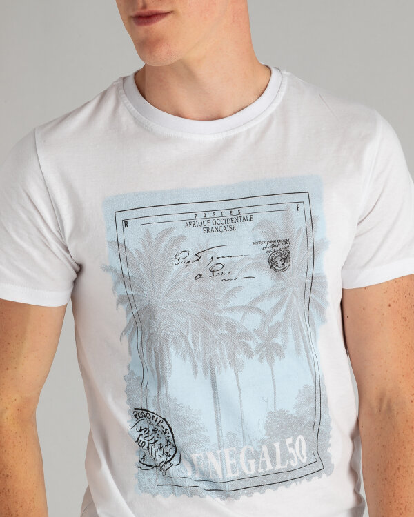 T-Shirt Perso TCE 910001H_BIALY biały