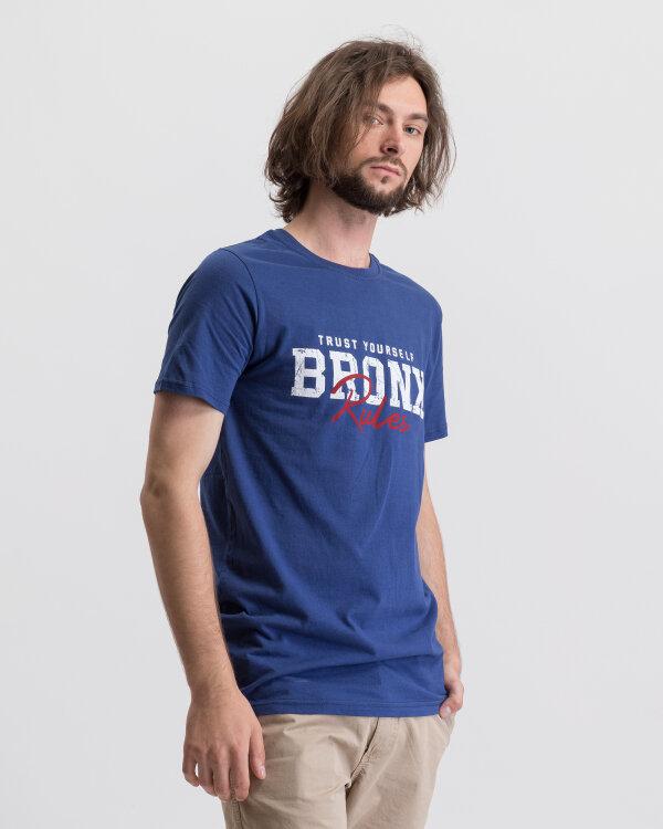 T-Shirt Perso TCE 910002H_JEANS niebieski