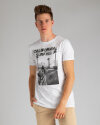 T-Shirt Perso TCE 910006H_BIALY biały