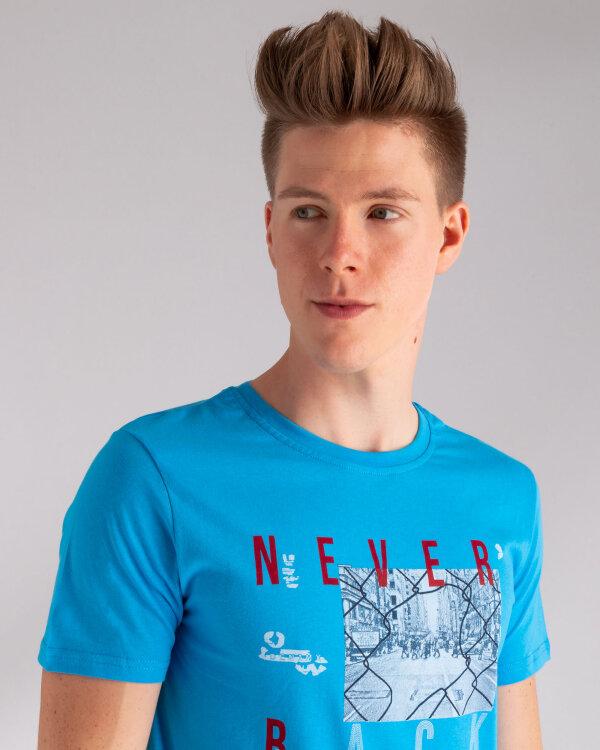 T-Shirt Perso TCE 910007H_NIEBIESKI niebieski