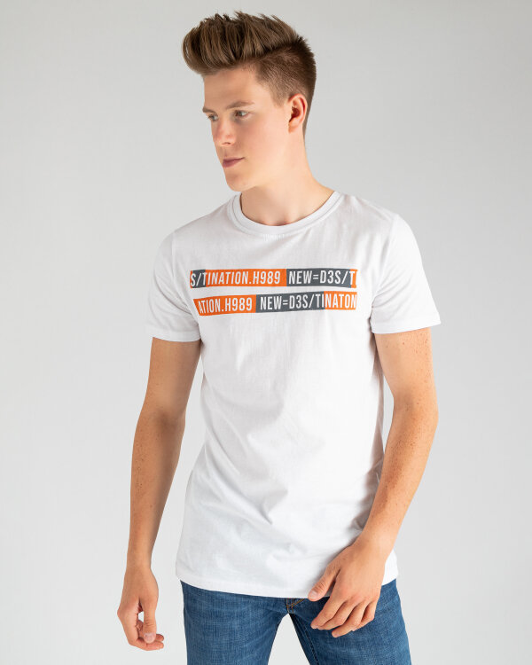 T-Shirt Perso TCE 910009H_BIALY biały