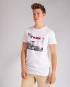 T-Shirt Perso TCE 910010H_BIALY biały